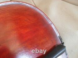 Old Antique Full Size Scottish Violin William Gibson Thurso Comes With Case