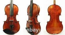 Old Vintage German 4/4 Size Violin, labeled -John Juzek Violin, Ready to Play