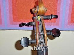 Old Vintage Violin Stradivarius Late 19th Early 20th