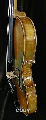 Old Violin by Juraj Berghuber, Circa 1900 -Listen to the Video