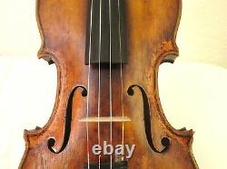 Old vintage violin USED IN A FILM Italian gold color SALE HELPS PBS