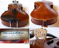 RARE FINE OLD 19th C VIOLIN video ANTIQUE MASTER Violino 784