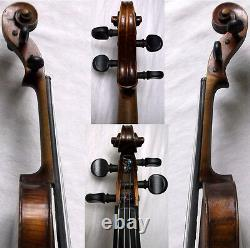 RARE OLD BAROQUE 1800 C. F HOPF VIOLIN VIDEO ANTIQUE Violino 584