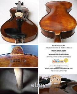 Rare Old Gusetto Violin Video Antique German Guseto 247