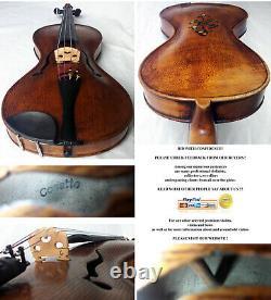 Rare Old Gusetto Violin Video Antique Master Guseto 333