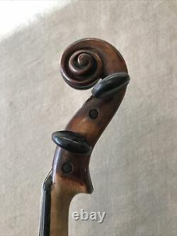 Rigart Rubus Russian OLD ANTIQUE Violin CZECH 1850 Smooth Rounded Edge