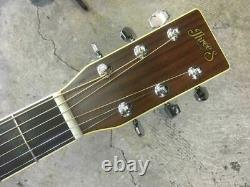 Suzuki Violin Three S SW200 Vintage 6 String Natural Acoustic Guitar Japan Made