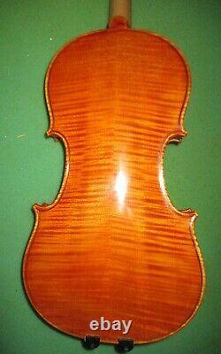 Un Old Antique 1993 Vintage J. Dvorak Czech 4/4 Violin-Huge Cannonlike Sound