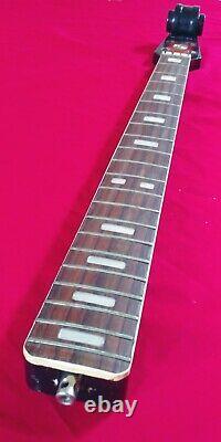 VINTAGE 1970s Sears Scroll Head Violin Body Bass Guitar NECK SILVERTONE Japan