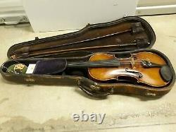 Very Rare Vintage Hermann Stark German Made Violin