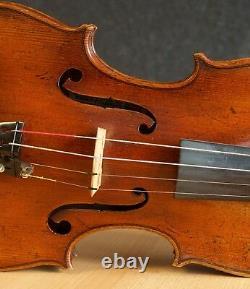 Very old labelled Vintage violin Stefano Scarampella Geige
