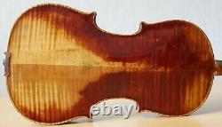 Very old labelled Vintage violin Stefano Scarampella Geige 1174