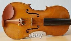 Very old labelled Vintage violin Stefano Scarampella Geige 1306