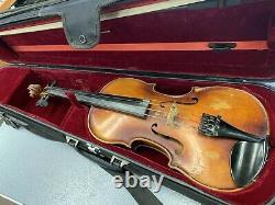 Vintage 1956 Conrad A. Gotz No. 122 4/4 Violin Made in West Germany