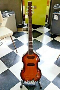 Vintage 1960s Conrad Violin Guitar Matsumoku MIJ Japan Luthier Project