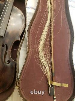 Vintage Antique JOSEF KLOTZ German Violin IN MITTENWALDE ANNO 1795 VIOLIN