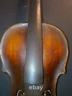 Vintage Antique Old Violin Full Size