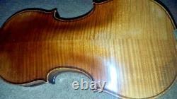 Vintage Antique Old Violin Size 7/8 Frederick Geisler 1909