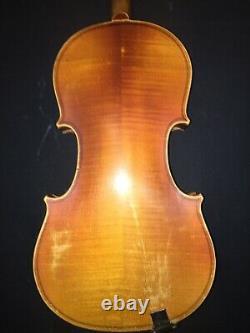 Vintage / Near Antique Pre-War Stradivarius Copy Rich Tone Violin