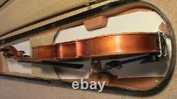 Vintage Violin 4/4 Fiddle Old Antique used full size