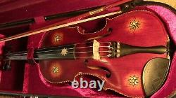Violin used 4/4 Fiddle old Antique Vintage used