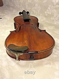 Vtg Francesco Ruggeri Model Violin Cremona 1663 with Case & Josef Richter Bow
