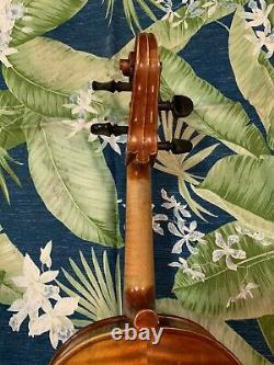 15.3 Pouces Vieille Antique 4/4 Czech Viola John Juzek Vintage