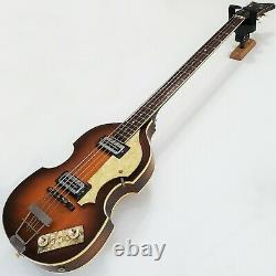 1967 Höfner 500/1 Violon Sunburst Beatle Mccartney Guitare Basse Vintage Hofner