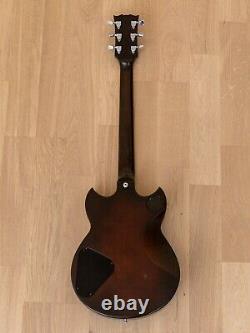 1980 Yamaha Sg800 Vintage Guitare Électrique Violon Sunburst Avec Hangtags & Case