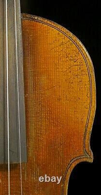 4 /4 Full Size Antique Old German Hopf Violin-listen To The Video