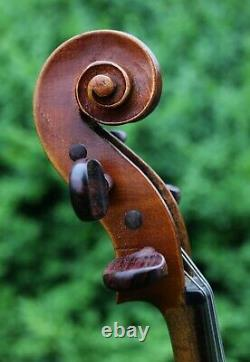 4/4 Violine Antique Bohemienne Vers 1900 Par Frantiek Boek, Écoutez Video