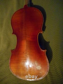 Ancien Et Beau Violon Entier 4/4 Vieux Violon Antique 4/4 Millésime