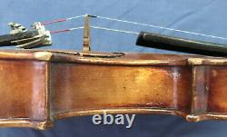 Antique Vintage Anton Schaefer 3/4 Taille Violon (allemagne)