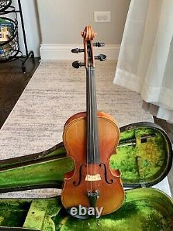 Antique Vintage Giovan Paolo Magnnia Brescia Copie 4/4 Violin Allemagne Complète
