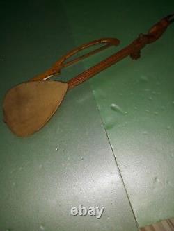 Antique Vintage Handcarved Gusle Balkan Traditional Fiddle Instrument