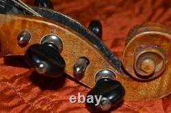 Antique, Vintage, Vieux Violon Tchécoslovaque, 4/4
