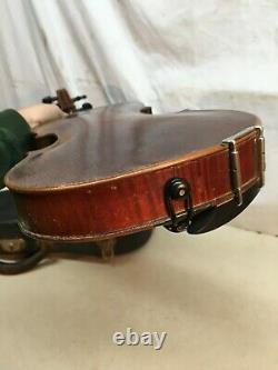 Antique Vintage Violin Maison De Primavera Philadelphia Pa 1800 Avec Cas