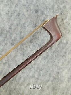 Antique Violon Arc Signé Tourte Vintage