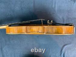 Antique/vintage Nicolaus Amatus Étiqueté 4/4 Violon. Bon État