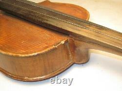 As-is Pièces / Réparation Vintage Ancien Violon Hopf Tchécoslovaquie Artistie Arc +