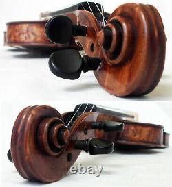 Beautiful Old Allemand Maggini Violin Voir La Vidéo Rare Antique 342