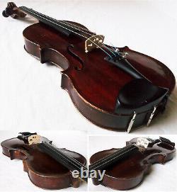 Beautiful Old Francais Maggini Violin Voir Vidéo Rare Antique 246
