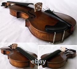 Bon Vieux Violon Allemand Voir Video Fine Antique Rare Violino 218