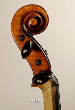 Écoutez La Vidéo! Ancien Violon Allemand De La Fin Du Xixe Siècle, Ton Plein Et Profond