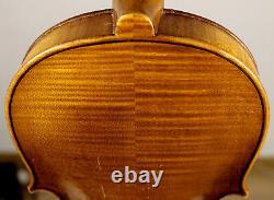 Écoutez La Vidéo! Old Better Class Conservatory Allemagne Violon Vers 1920