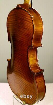 Écoutez Video! Fine Anticique Violine Bohemienne, Vers 1920, Jan Podesva