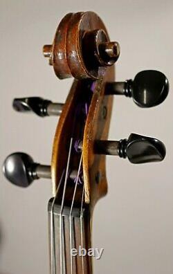 Écoutez Video! Old Antique 19th Century Czech Violin Par Josef Lipa