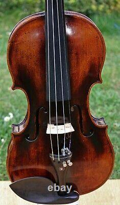 Écoutez-moi À Vidéo! Antique Baroque Allemagne Violon Stainer Fiddle