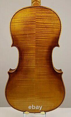Écris-toi À La Video! Old Better Class Conservatory Allemagne Violon C. 1920
