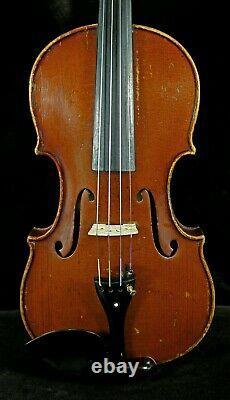 Excellent Ton! Vieux Violon Antique, Écoutez La Vidéo! Gennaro De Luccia En 1929